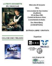 CICLO CINE Y RELIGIÓN 2008. Miradas europeas.