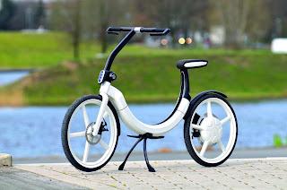 VW China, hybrid bicycle !