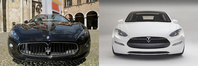 No Comment: Tesla Model S – Maserati GranTurismo