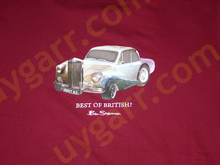 Ben Sherman: A great composition of British Automotive by a t-shirt