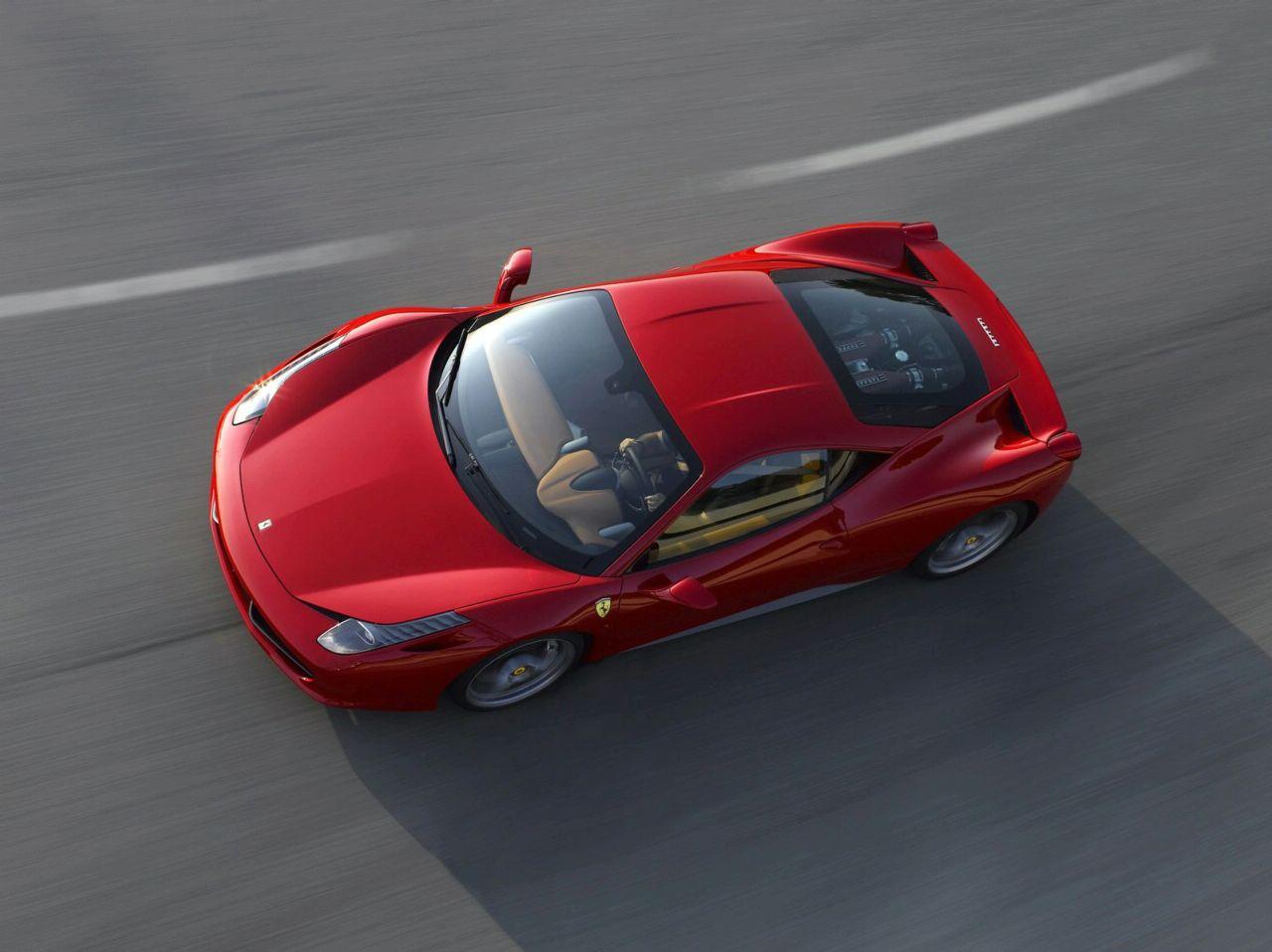 Like every Ferrari, 458 Italia