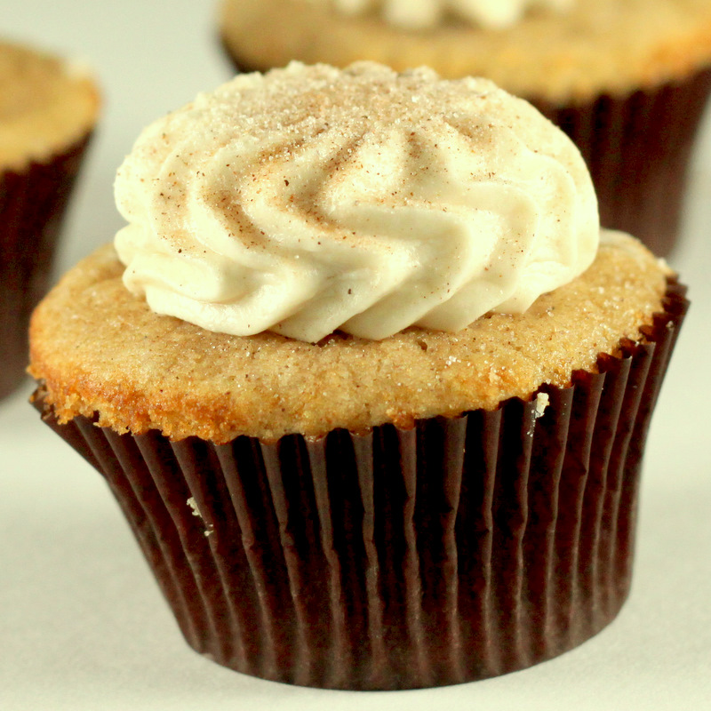 Sugar Cooking: Snickerdoodle Cupcakes with Cinnamon Cream Cheese ...