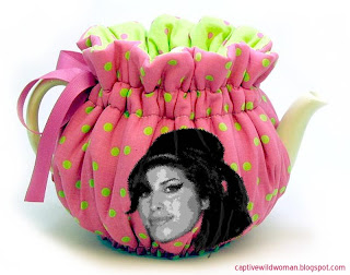 Amy Winehouse Tea Cozy