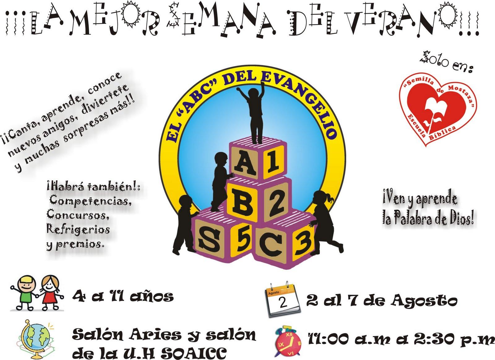 Escuela Bíblica de Vacaciones 2010 !!!