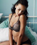 Selita Ebanks - in Macy's Lingerie Photoshoot