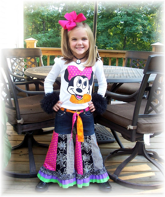Minnie Mouse Halloween Gaucho Set 2008 $145