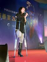 Jin Jing, primer emancipovane žene bez noge