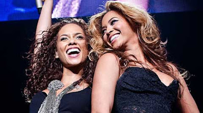 Alicia Keys y Beyonce