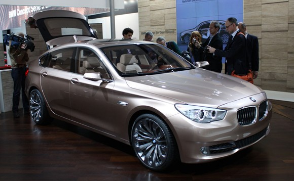 After the new BMW 5 Series GT