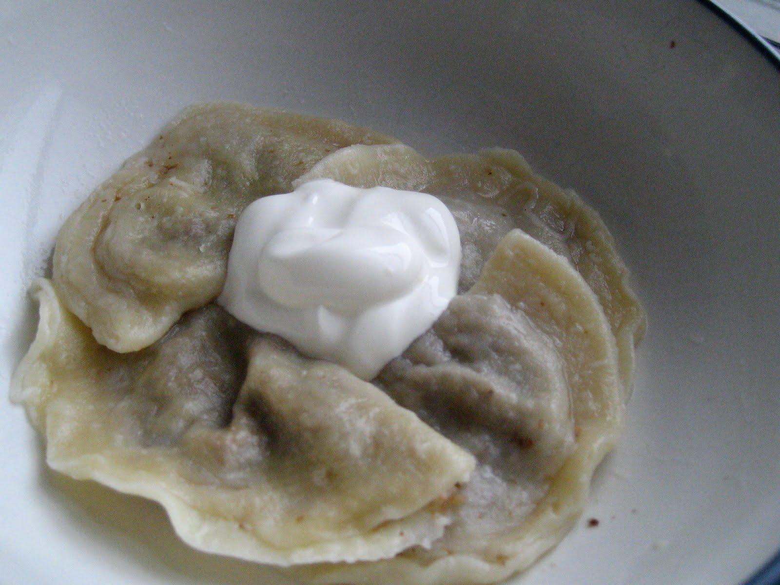 Wild Honey: Pierogi z Kasza Gryczana: Kasha & Mushroom ...