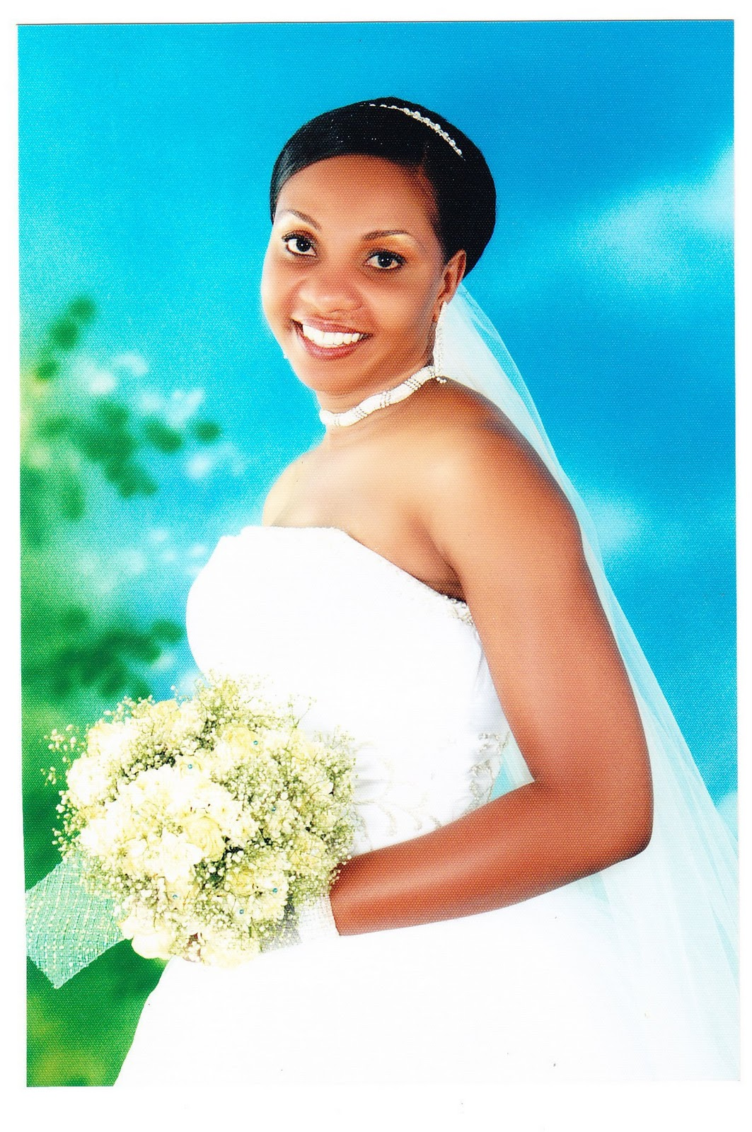 Wendo Mbutu\'s Wedding ~ Wedding Bells