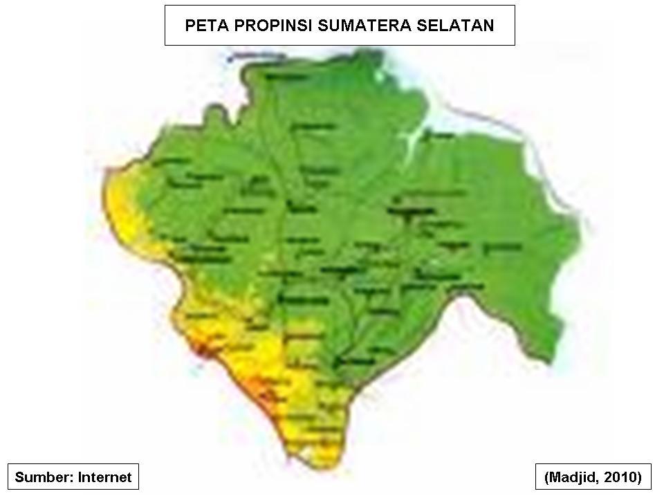 PETA SUMATERA SELATAN DOWNLOAD