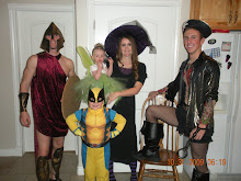 Spartan, Tinkerbell,Wolverine,Witch and Pirate Hooker