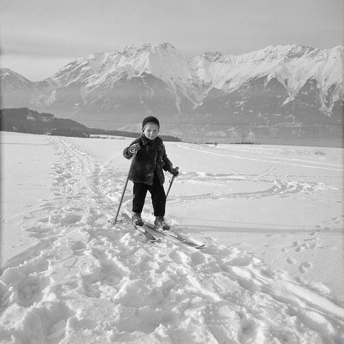 Winter sports in Tirol. Nationaal Archief