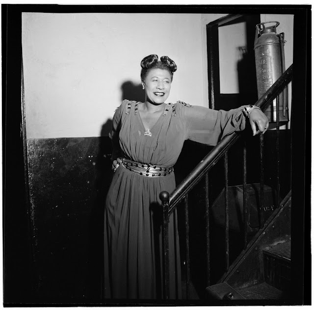 Portrait of Ella Fitzgerald, New York, N.Y., ca. Nov. 1946. William P. Gottlieb Collection (Library of Congress).