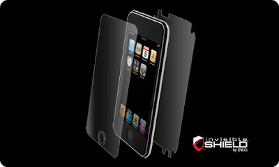 invisibleSHIELD iPod Touch 2G Screen protector