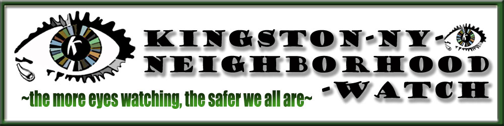 Kingston NY Neighborhood Watch