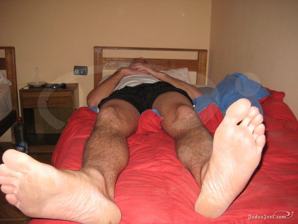 Sleeping Gay Feet