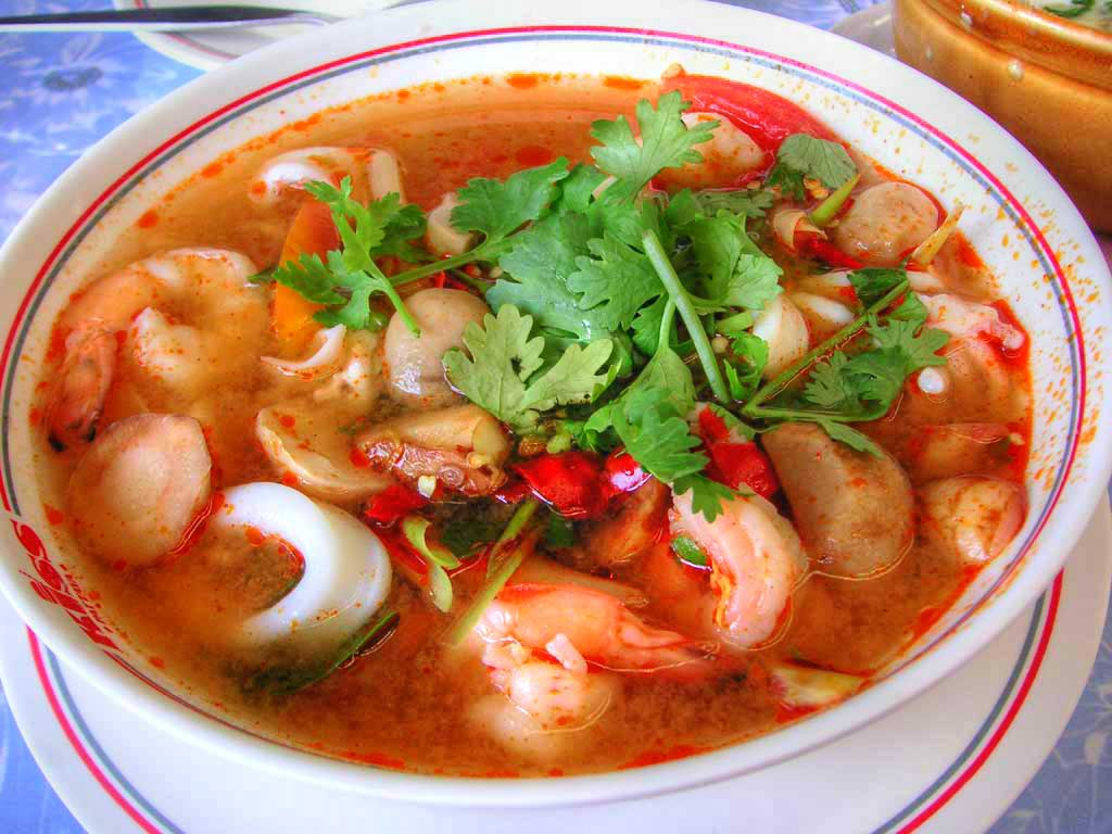 Learn Thai Easy: Hot spicy!!! Tom Yum Soup