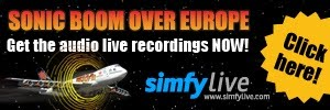 Get The Sonic Boom Over Europe Audios