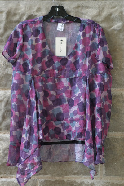 Austin Tunic with Asymetrical Hem