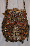 Mary Frances Owl Purse