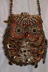 Mary Frances Owl Purse