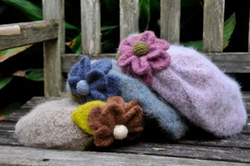Mohair soft hats