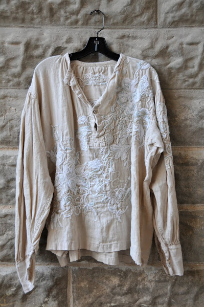 Cream Gypsy Johnny Shirt by Magnolia Pearl