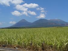 volcán santa ana, volcán izalco y cerro verde