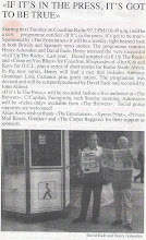 IF IT'S IN THE PRESS - THE START - 1994