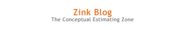 Zink Blog-The Conceptual Estimating Zone