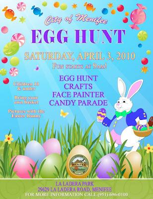 menifee easter egg hunt