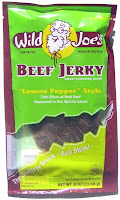 Wild Joe's Beef Jerky - Lemon Pepper