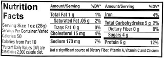 hickory's best jerky nutrition label