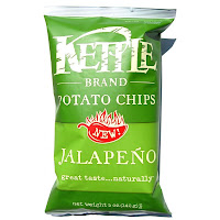 Kettle Brand Potato Chips Jalapeno