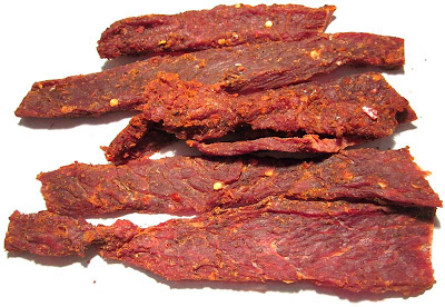 spicy hot beef jerky