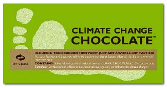 climate change chocolate bar