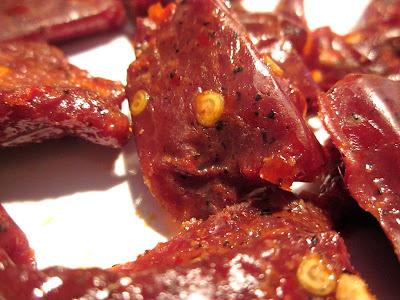 hot beef jerky