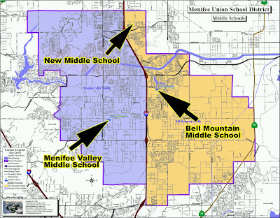 Menifee Middle School Boundaries Map