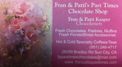 Fran and Pattie Pasttime Chocolate Shop