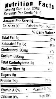 sturgis beef jerky nutrition