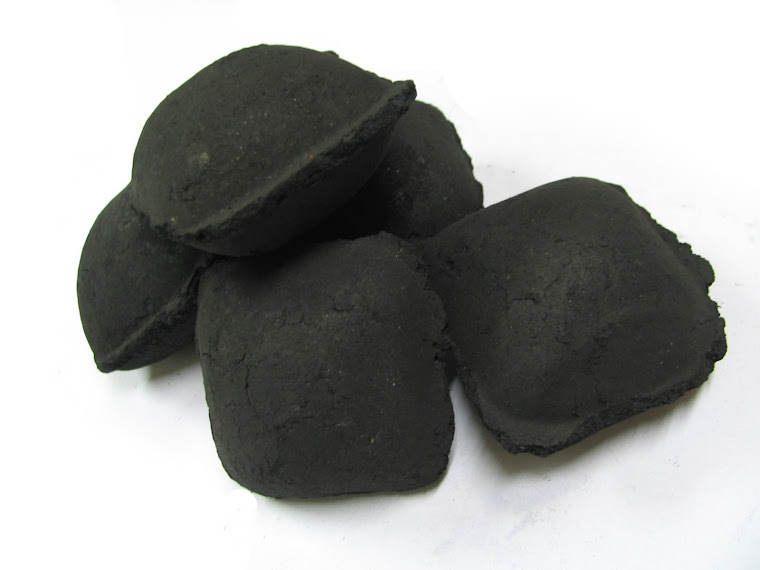 BRIQUETTE CHARCOAL - PILLOW
