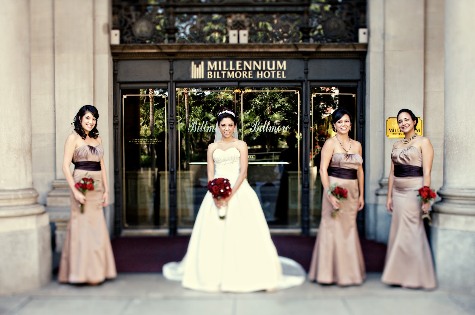 Beverly Harris Weddings and Events: USC Town & Gown Wedding: Lina ...