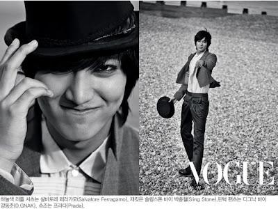 Lee Min Ho على مجلة Vogue,أنيدرا