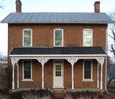 Farm house design brick farm house with tin roof for Brick house with tin roof