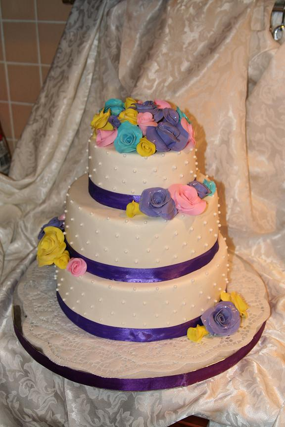 Торт 2 яруса маме