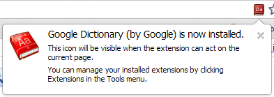 Google chrome dictionary settings