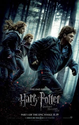 harry potter and the deathly hallows part 1 movie cover. Deathly Hallows Part I .