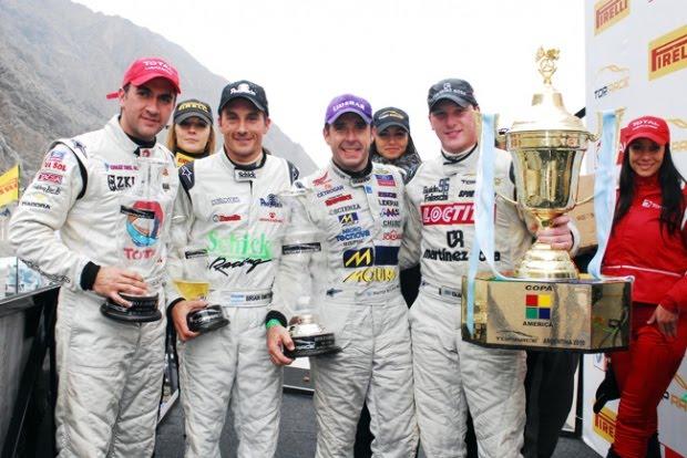 Falaschi logró su primer título grande en el automovilismo